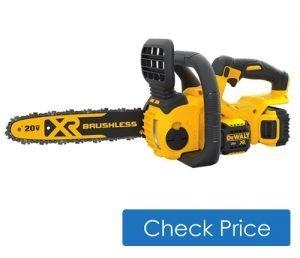 Dewalt cordless best electric chainsaw